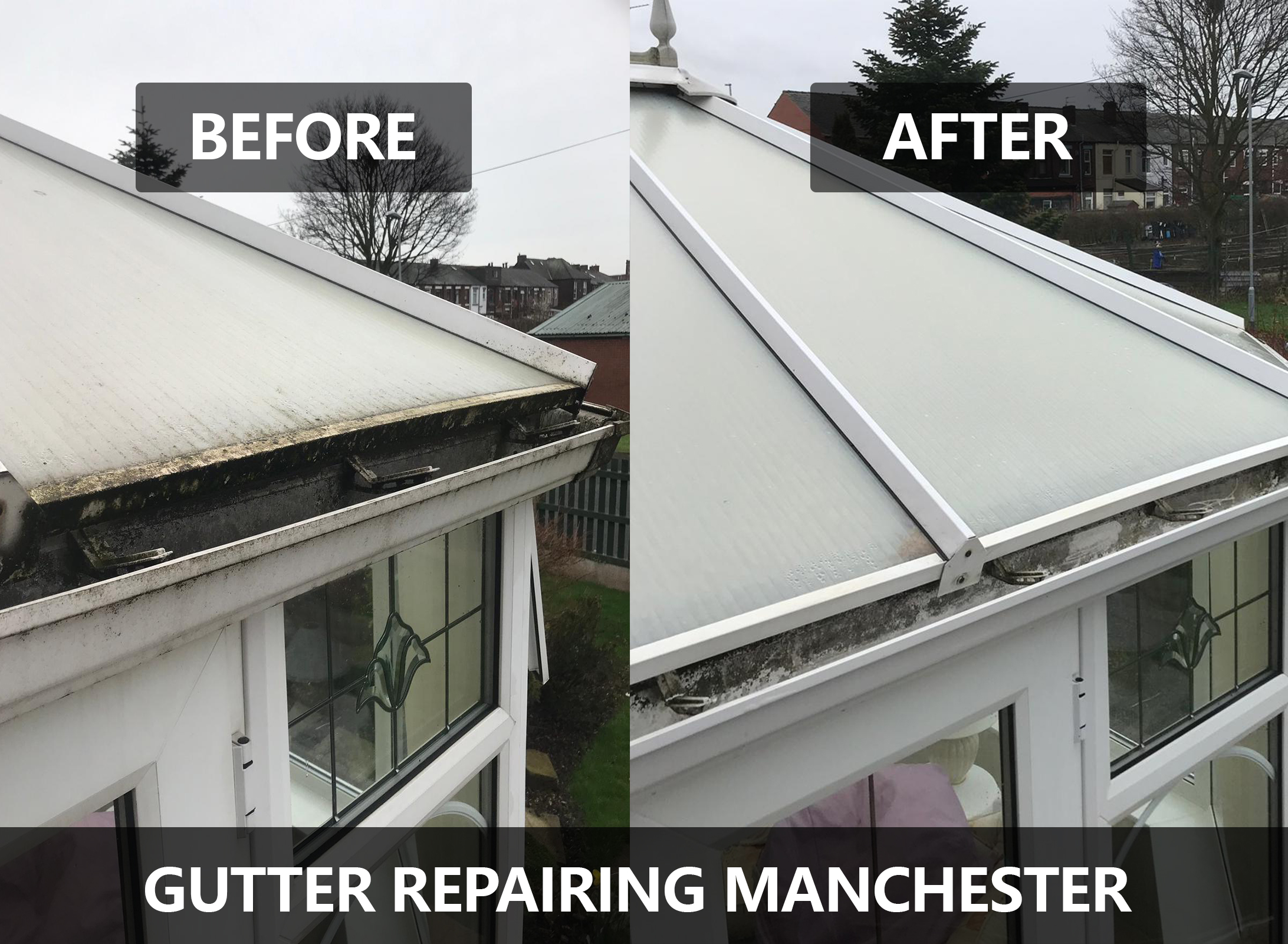 Gutter Repairing and Maintenance Manchester